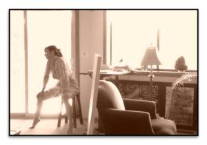 Inci Jones in Studio