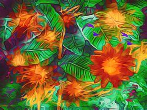 Fleurs de vie Inci Jones Artist